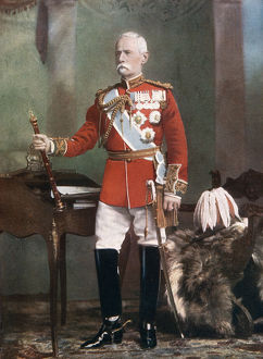 Field Marshal Lord Roberts, Commander in Chief of the forces in South Africa, 1902