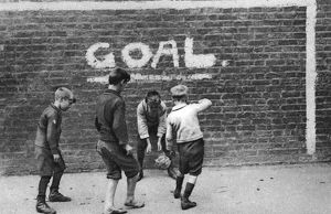 sporty/football east end london 1926 1927 artist