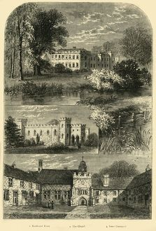 'Fulham Palace in 1798', (c1878). Creator: Unknown