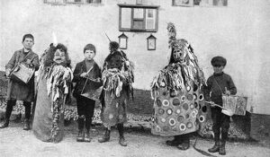 hobby horse may day ceremonies somerset c1922