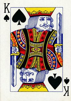 king spades deck goodall son ltd playing cards