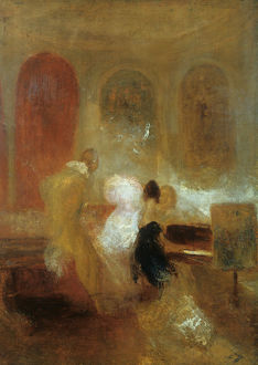 jmw turner/music party east cowes castle c1835 artist