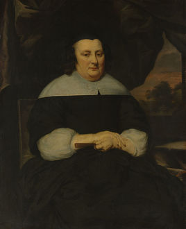 Portrait of a Woman, ca. 1665-70. Creator: Nicolaes Maes