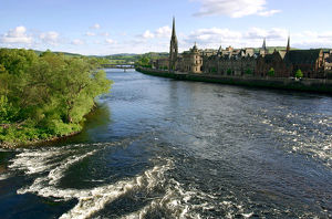 River Tay and Perth, Scotland