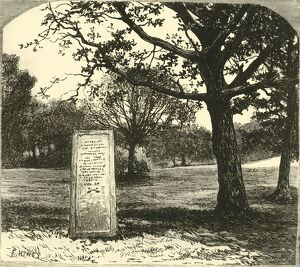 the rufus stone new forest 1890 creator