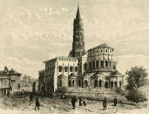 st sernin toulouse 1890 creator unknown