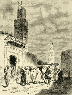 a street fez 1890 creator unknown